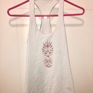 Lululemon Pineapple Printed Tank Top